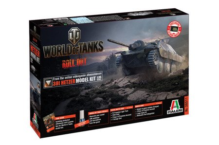 Italeri 36511  World of Tanks - 38t HETZER