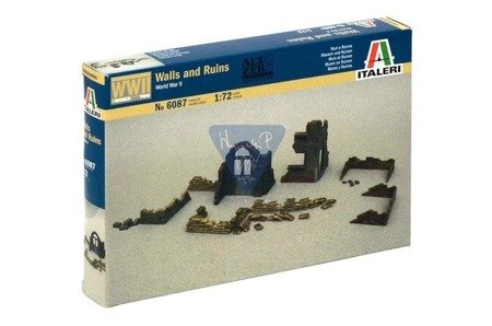 Italeri 6087 WWII - WALLS AND RUINS i
