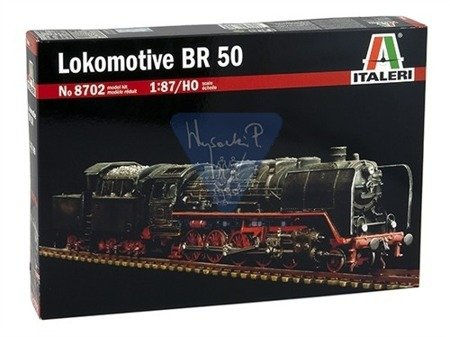 Italeri 8702 Model do sklejania Lokomotywa BR 51