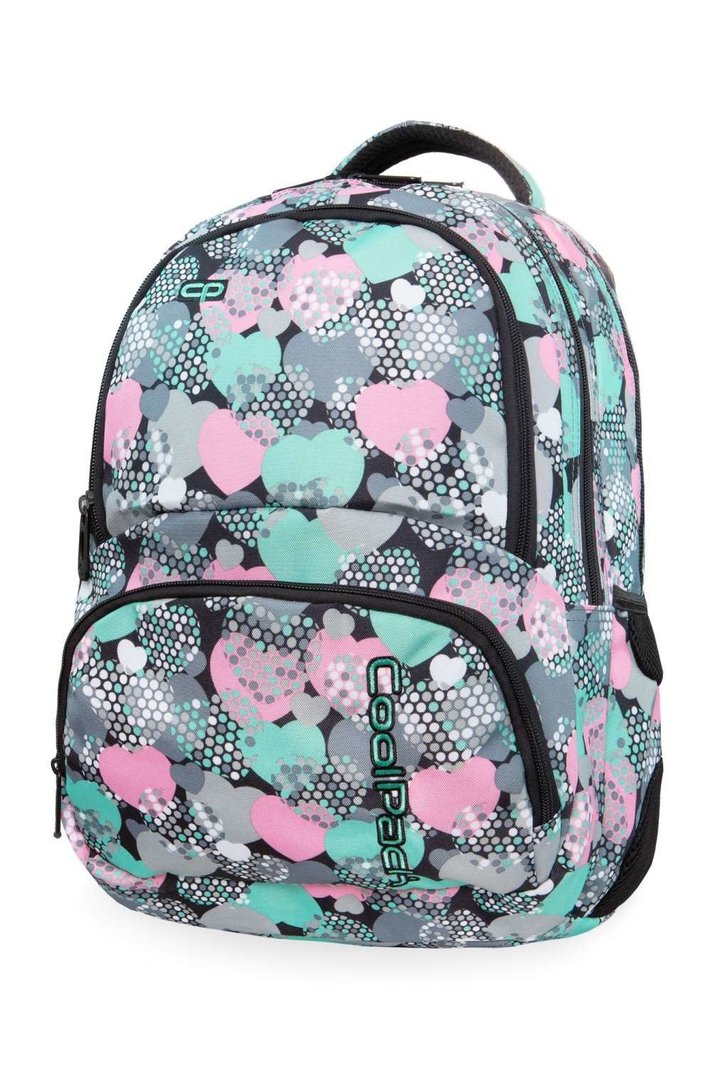2c2be737e8f7c ... Plecak CoolPack SPINER MINTY HEARTS B01018 ...