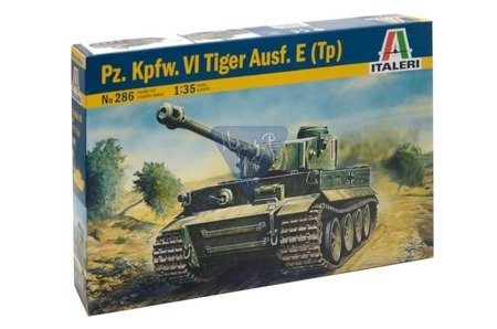 Italeri 286 Model do sklejania Czołg Tiger I ausf E/H1