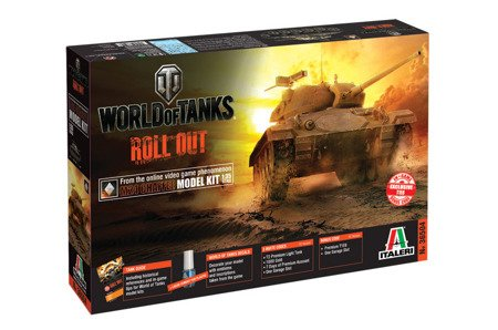 Italeri 36504 World of Tanks - Czołg M24 CHAFFEE