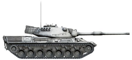 Italeri 36507 World of Tanks - Czołg Leopard 1